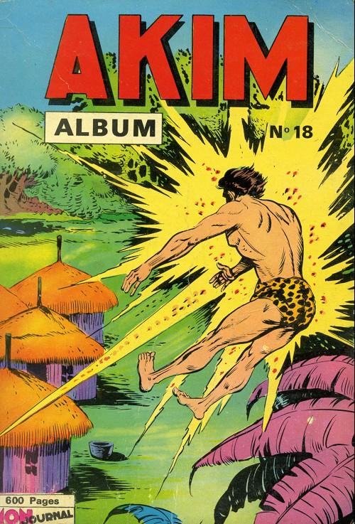 Couverture de Akim (1re série) -Rec018- Album N°18 (du n°110 au n°114)