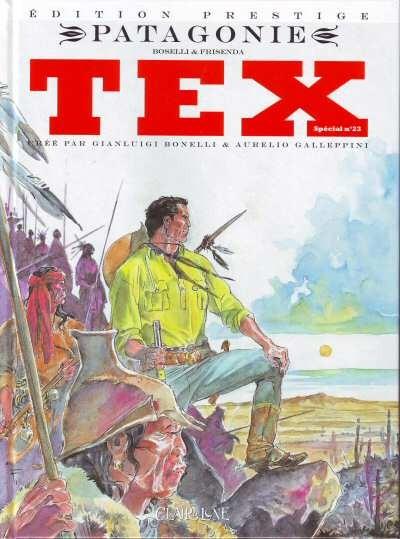 Couverture de Tex (Spécial) (Clair de Lune) -23- Patagonie