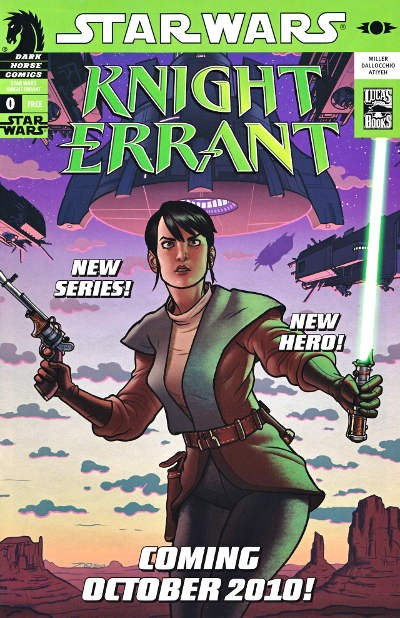 Couverture de Star Wars: Knight Errant (2010) -0PUB- Knight Errant preview