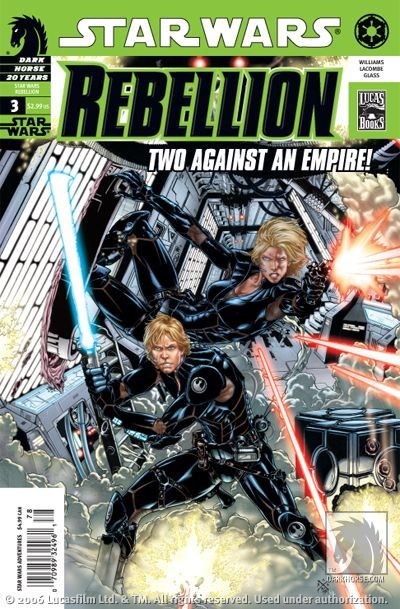 Couverture de Star Wars: Rebellion (2006) -3- My brother, my ennemy #3