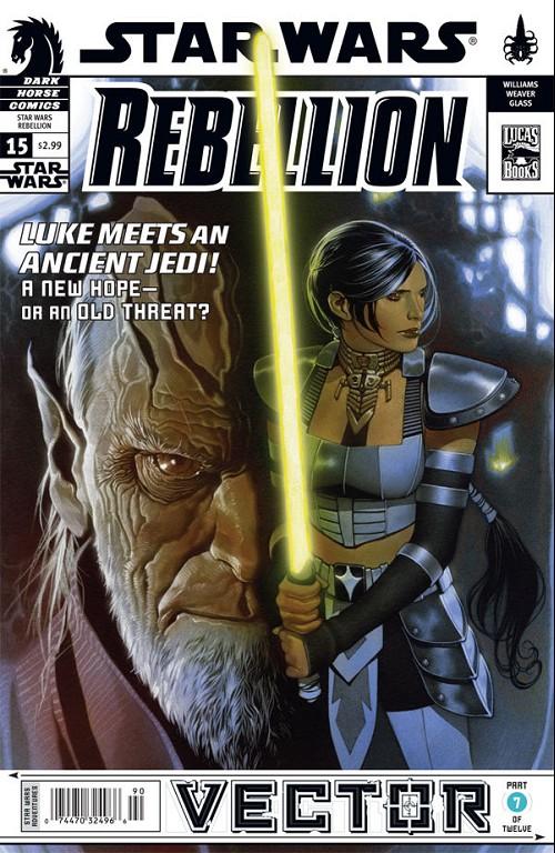 Couverture de Star Wars: Rebellion (2006) -15- Vector #7
