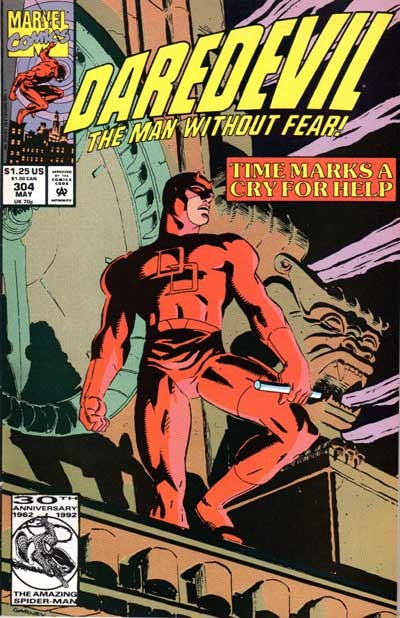 Couverture de Daredevil (1964) -304- 34 hours
