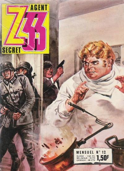 Couverture de Z33 agent secret -12- Le cuisinier du maréchal
