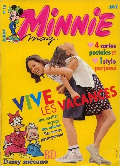 Couverture de Minnie mag -13- Numéro 13