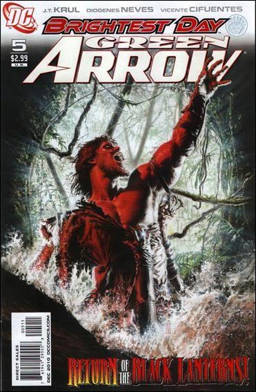 Couverture de Green Arrow (2010) -5- Growing pains