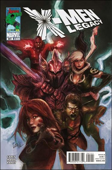 Couverture de X-Men Legacy (2008) -241- Collision part 4