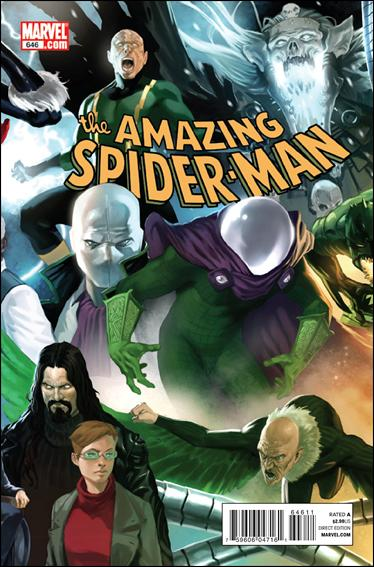 Couverture de Amazing Spider-Man (The) Vol.2 (Marvel comics - 1999) -646- Origin of the species part 5