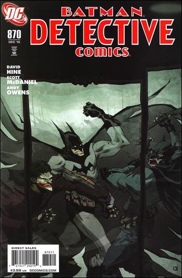 Couverture de Detective Comics (1937) -870- Impostors (Part 4) : Last man laughing