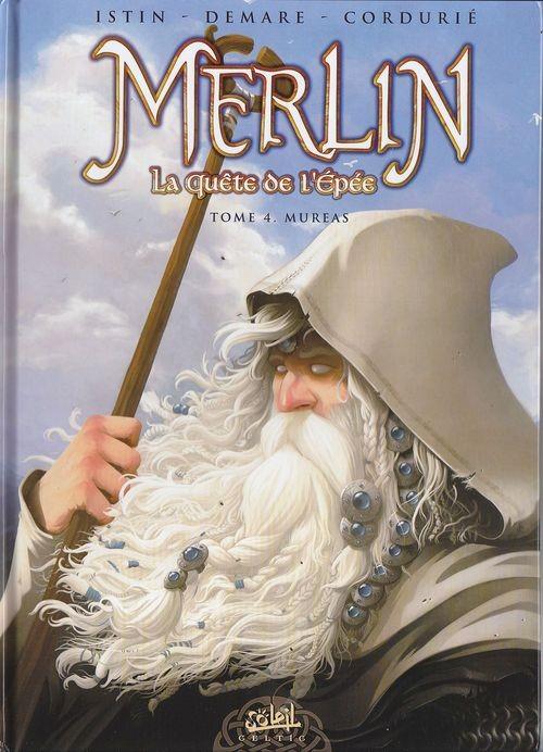 Couverture de Merlin - La quête de l'épée -4- Mureas