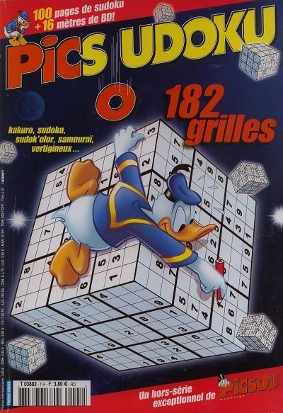 Couverture de Picsou Magazine -HS3- Picsoudoku