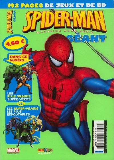 Couverture de Spider-Man Magazine (hors-série géant) -1- Hors-série géant n°1