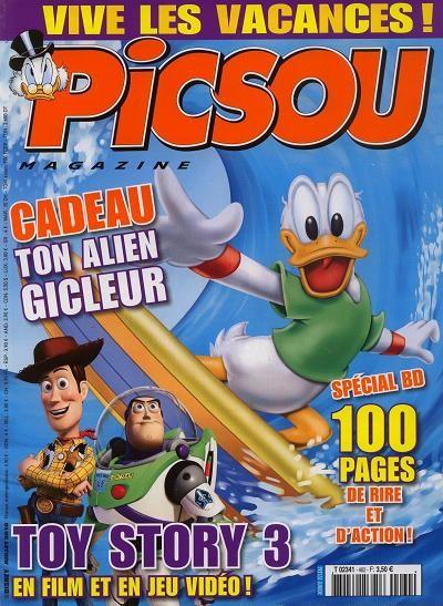 Couverture de Picsou Magazine -462- Picsou magazine n°462