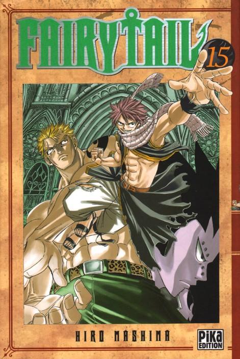 Couverture de Fairy Tail -15- Tome 15