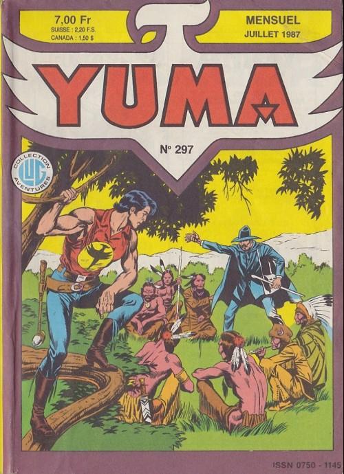 Couverture de Yuma (1re série) -297- La mort de Zagor