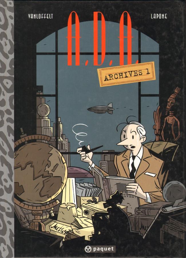 Couverture de A.D.A. - Antique Detective Agency -HS- Archives 1