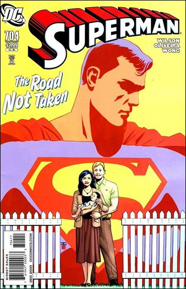 Couverture de Superman (1939) -704- Grounded interlude : the road least travelled