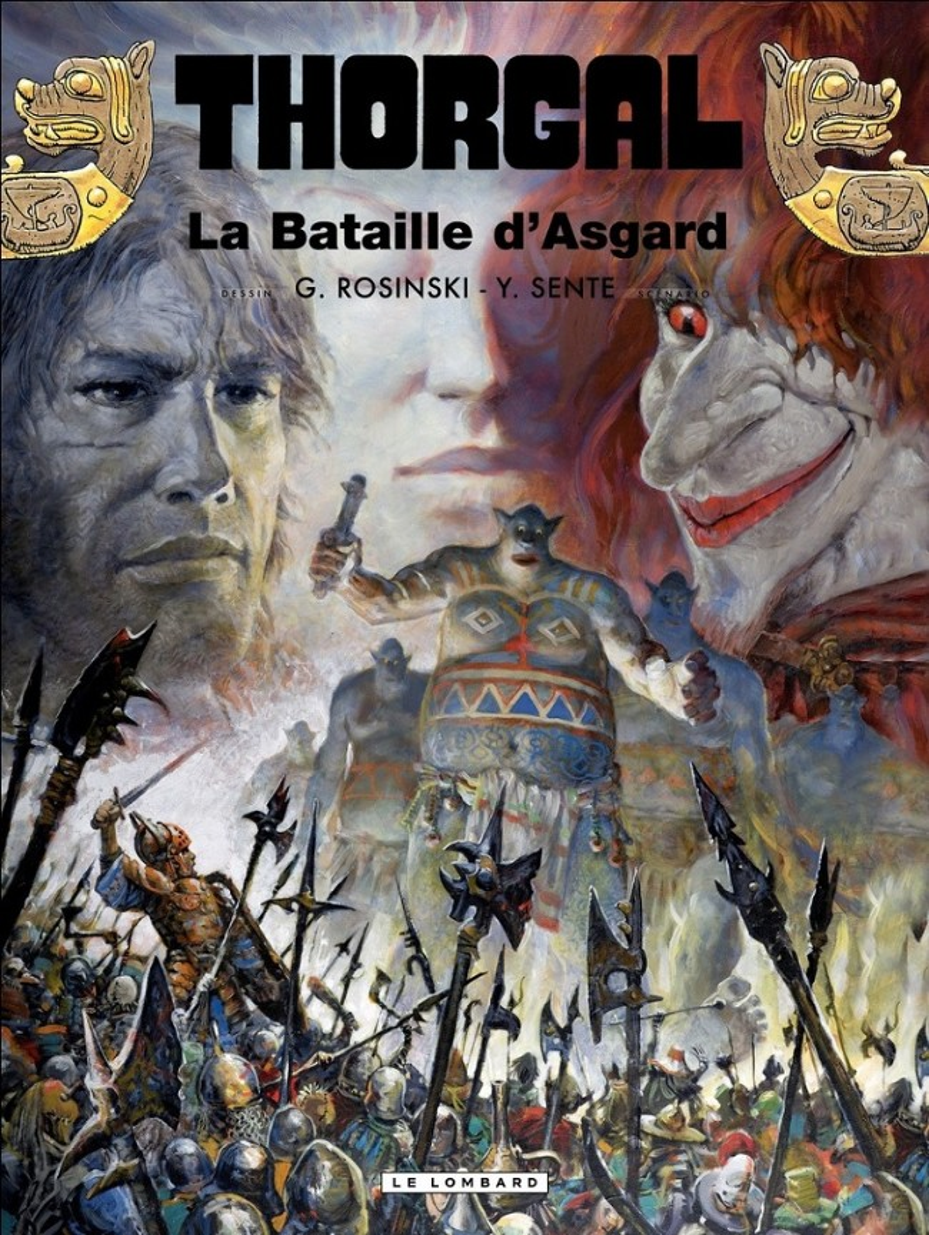 Couverture de Thorgal -32- La Bataille d'Asgard