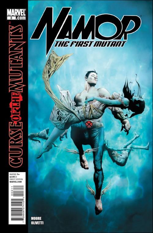 Couverture de Namor: The First Mutant (2010) -3- Royal blood (Part 3)