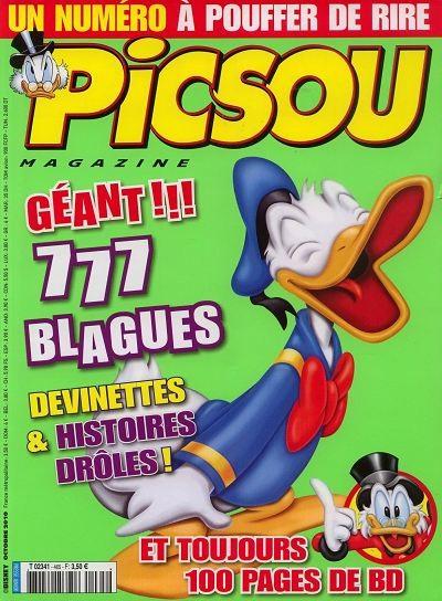 Couverture de Picsou Magazine -465- Picsou magazine n°465