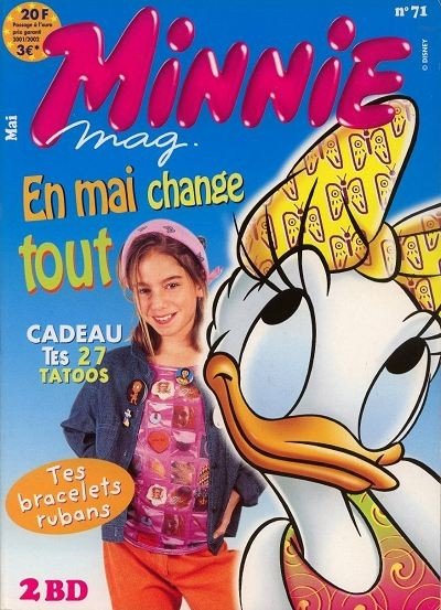 Couverture de Minnie mag -71- Numéro 71