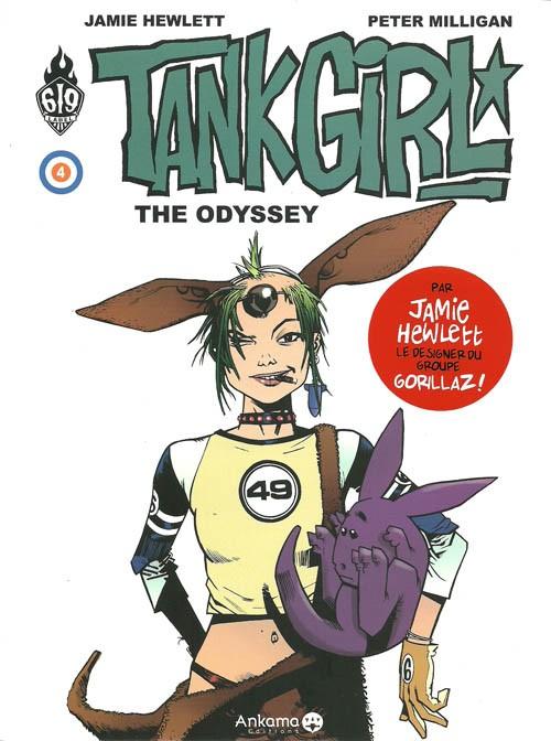 Couverture de Tank Girl -4- The odyssey