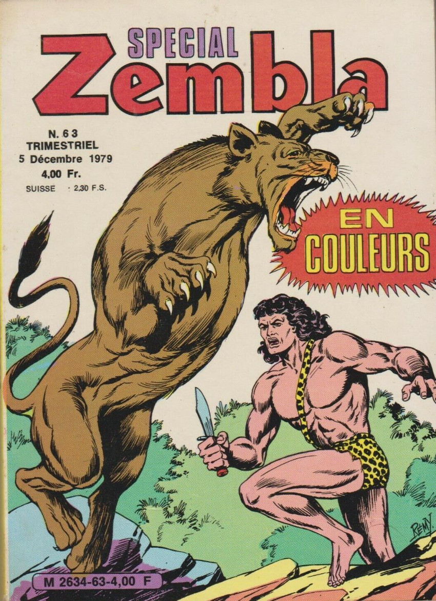 Couverture de Zembla (Spécial) -63- Numéro 63