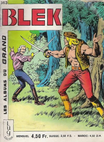 Couverture de Blek (Les albums du Grand) -363- Numéro 363