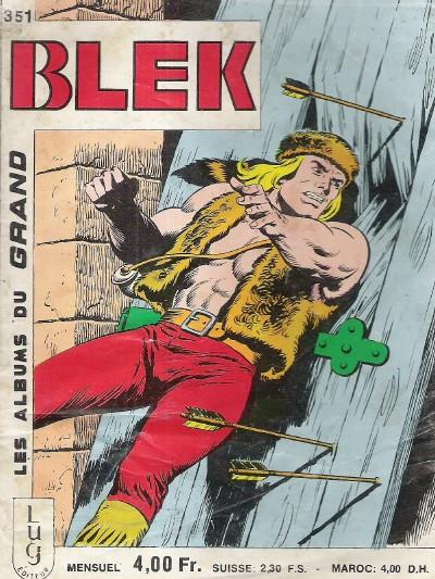 Couverture de Blek (Les albums du Grand) -351- Numéro 351