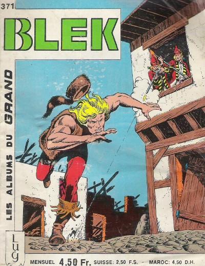 Couverture de Blek (Les albums du Grand) -371- Numéro 371