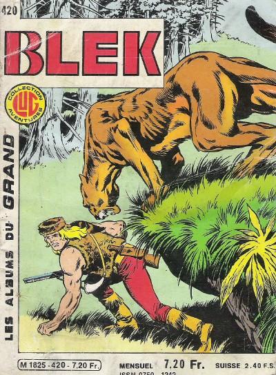 Couverture de Blek (Les albums du Grand) -420- Numéro 420