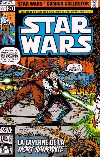Couverture de Star Wars (Comics Collector) -20- Numéro 20