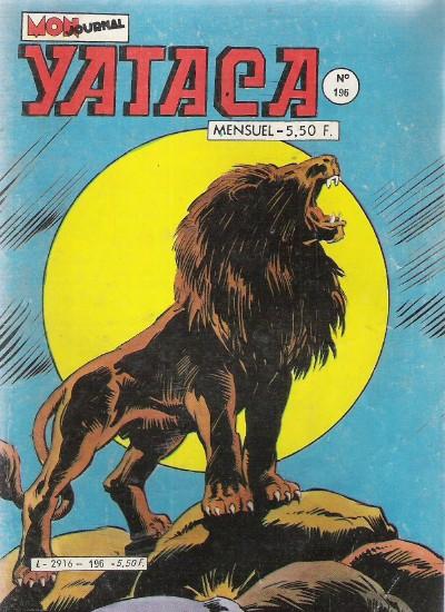 Couverture de Yataca (Fils-du-Soleil) -196- Le lion de neige