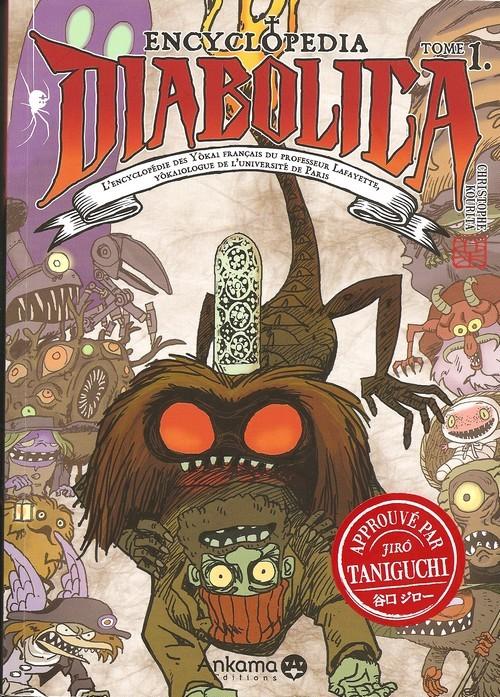 Couverture de Encyclopedia Diabolica -1- tome 1
