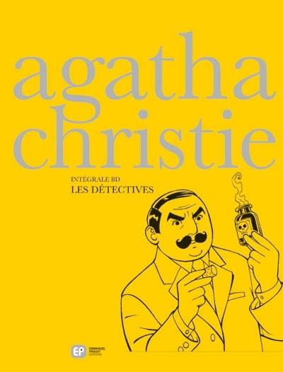 Couverture de Agatha Christie - Intégrale BD -4- Les détectives