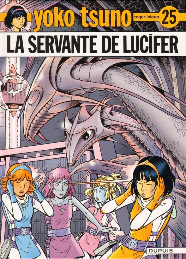 Couverture de Yoko Tsuno -25- La servante de Lucifer