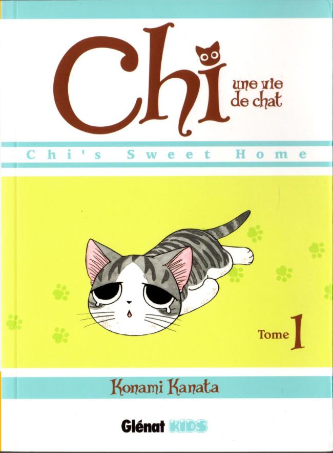 Couverture de Chi - Une vie de chat (format manga) -1- Tome 1