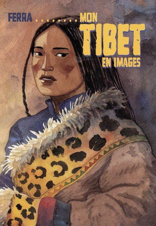 Couverture de Où la neige ne fond jamais -HS- Mon Tibet en images