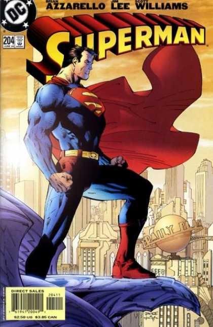 Couverture de Superman Vol.2 (DC comics - 1987) -204- For tomorrow: part one