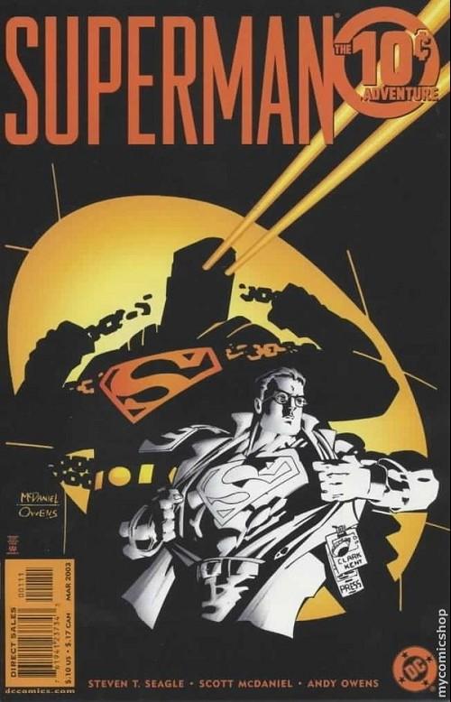 Couverture de Superman (One shots - Graphic novels) -OS- Superman: The 10-cent adventure