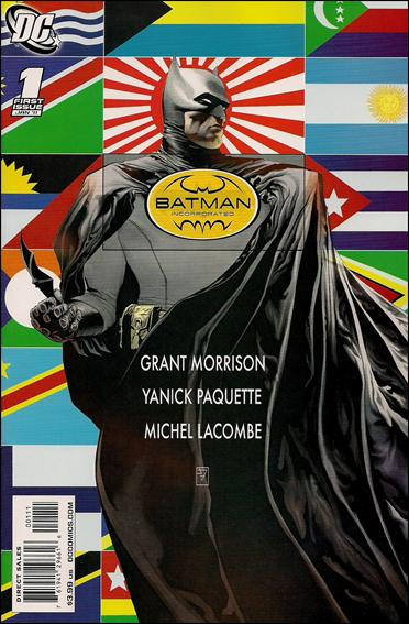 Couverture de Batman Incorporated (2011) -1- Mr unknown is dead