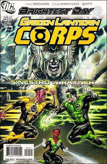 Couverture de Green Lantern Corps (2006) -54- The weaponer part 2