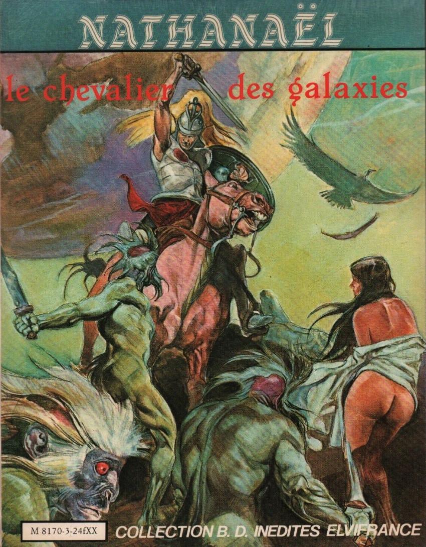 Couverture de Nathanaël -1- Le chevalier des galaxie