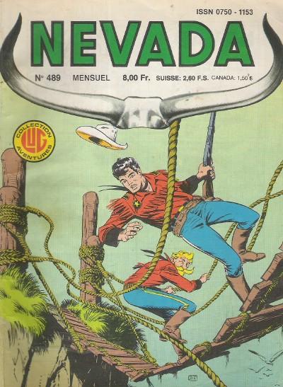 Couverture de Nevada (LUG) -489- Numéro 489