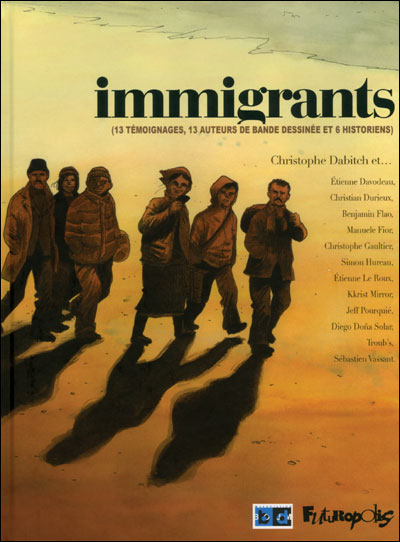 Couverture de Immigrants
