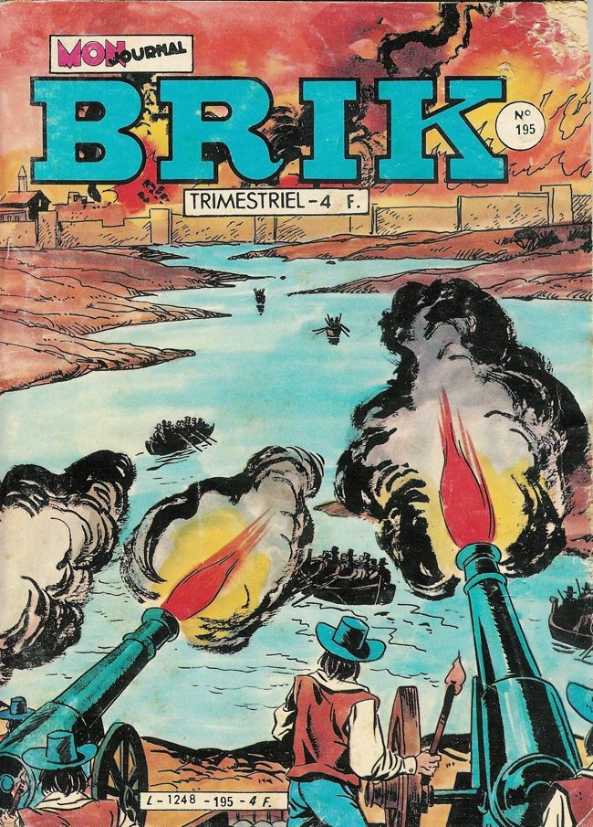 Couverture de Brik (Mon journal) -195- Quand un pirate rencontre un autre pirate...