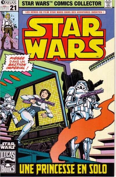 Couverture de Star Wars (Comics Collector) -21- Numéro 21