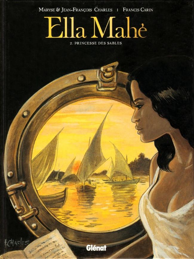 Couverture de Ella Mahé -2- Princesse des Sables