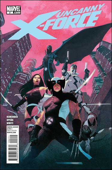 Couverture de Uncanny X-Force (2010) -2- The apocalypse solution part 2