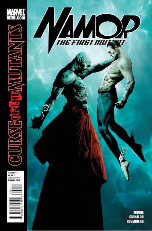 Couverture de Namor: The First Mutant (2010) -4- Royal blood (Part 4)
