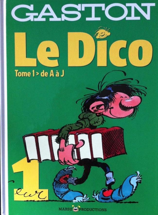 Couverture de Gaston (Hors-série) - Le dico - Tome 1 : de A à J